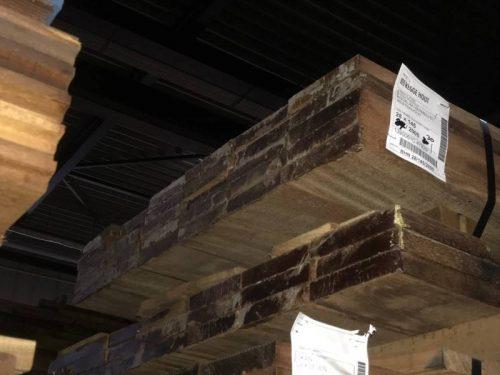 Hardhouten planken geschaafd impressie bundel