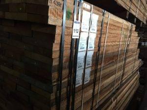 Houten planken hardhout